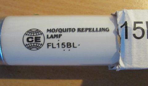 Ультрафиолетовая лампа FL15W/BL/T8 G13 для WE-150, WE-813-SB30S, МИД-Л30L, Баргузин 4-2х15