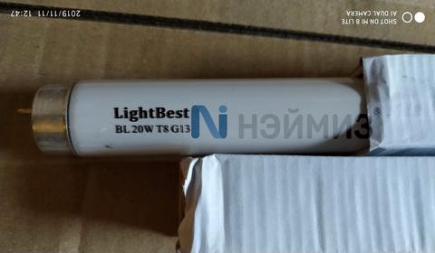 Ультрафиолетовая лампа FL20/T8/BL18W G13 LightBest