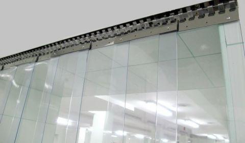 Полосовые завесы ПВХ Теплоизолирующие