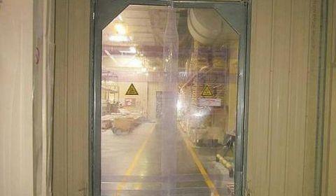 Эластичные ПВХ двери