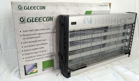 Инсектицидная лампа GC1-60  3*20 ватт  до 400 м2 GLEECON