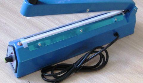 Запайщик пакетов FS 200А ручной настольный, пластиковый корпус