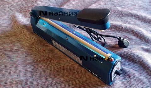 Запайщик пакетов PFS 300 ручной настольный, пластиковый корпус