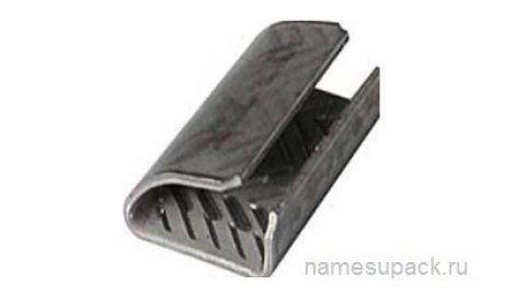 Скрепа металлическая для полиэстеровой ленты (PET)