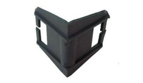 Защитный уголок жесткий пластиковый