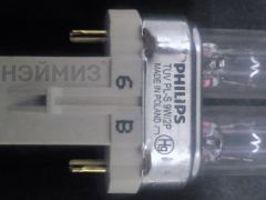 Лампа бактерицидная TUV PL-S 9W/2p